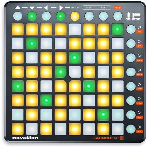 Ableton Gift Card - novation 64 button grid music controller long mcquade musical instruments