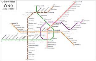 Vienna Subway Map by U Bahn Vienna Metro Map Austria