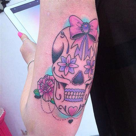 tattoo messicano besaly tattoo tatuaggio teschio messicano femminile