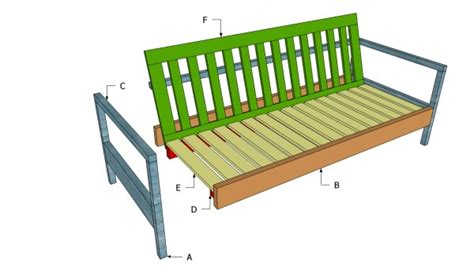 Wood Sofa Plans by Sewing Table Plans White Outdoor Sofa Plans Diy
