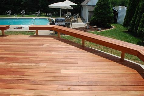 decking bench deck bench pictures