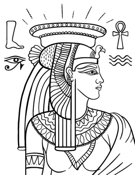 caesar and cleopatra coloring pages coloring pages