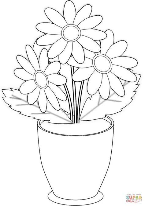 20 Sketsa Gambar Mewarnai Bunga untuk Anak-Anak
