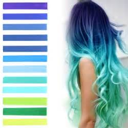 coloring ombre hair mermaid blue hair dye