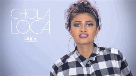 buzzfeed hairstyles throughout history chola culture dominated the 1980s and urban chicanas