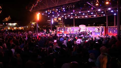 new year stage new years on stage at downtown disney countdown and