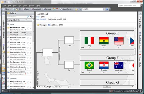 microsoft visio viewer visio viewer in outlook 2007 bill morein s weblog