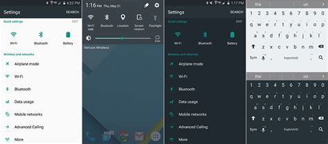 android theme store how to get stock android look on samsung galaxy s6 or galaxy s6 edge