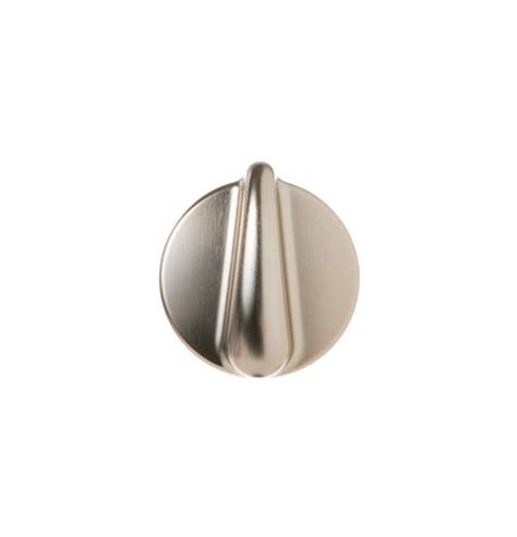 Stainless Steel Oven Knobs by Wb03k10303 Range Knob Stainless Steel Ge Appliances