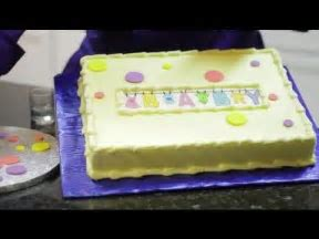 Simple Cakes to Make for Baby Showers : Cake Decorating   YouTube