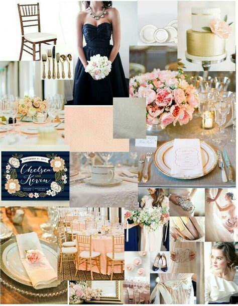 #eventsbydaniellenichole love the navy and blush color