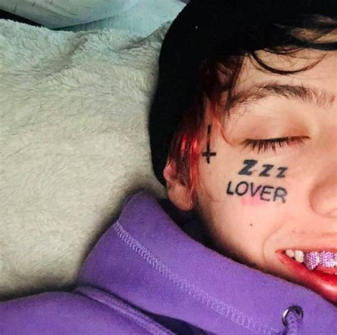 upside down cross tattoo lil xan gets cross on his