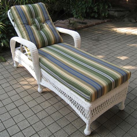 Rattan Patio Chaise Lounge by Cape Montego Single Adjustable Resin Wicker Chaise