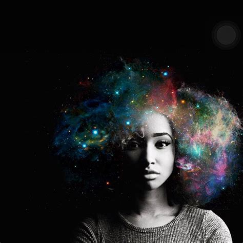 Afros Turned Into Flowery Galaxies To Make Black Women Proud Of Their African Heritage   Bored Panda