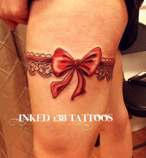 garter tattoo inked138 tattoos
