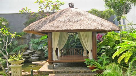 bali backyard home element bali style design for a backyard gazebo backyard design ideas glubdubs