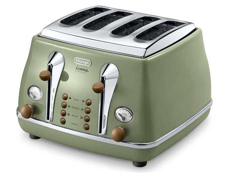 Delonghi Toaster Warranty Delonghi Vintage Icona Ctov4003gr Toaster Green
