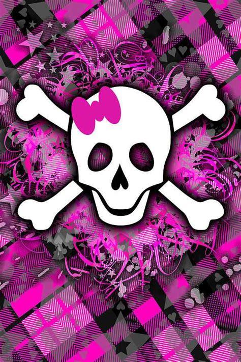 wallpaper girly skull girly skull wallpaper wallpapersafari