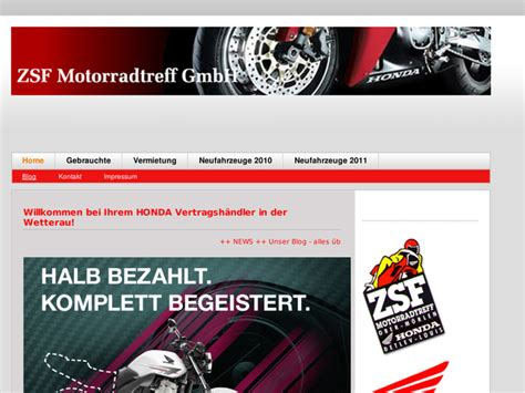 Motorradverleih Bremen by Zsf Motorrad Treff Vertriebs Gmbh In Ober M 246 Rlen