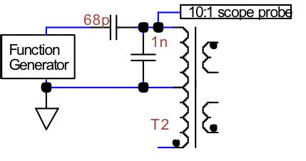 measure inductance with function generator chasing ghosts eenews power