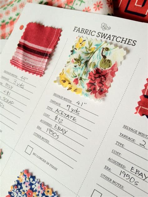 fabric swatch card template 17 best images about fabric swatch sle cards on