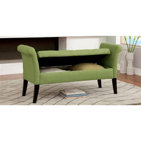 green storage bench doheny green storage bench shop for affordable home