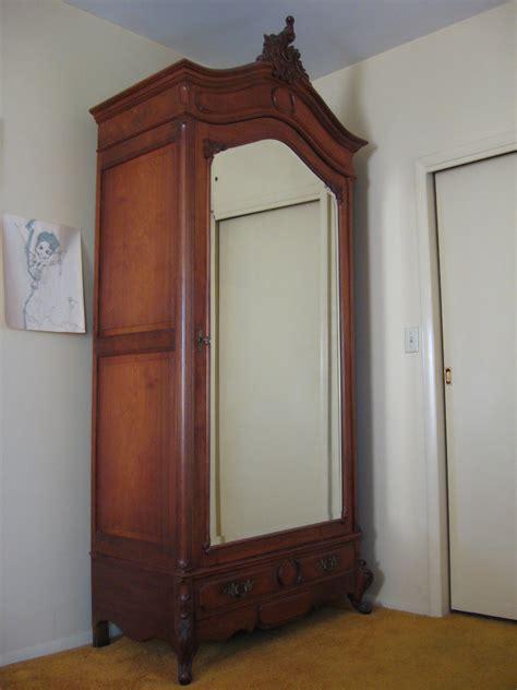 antique walnut armoire louis xv walnut armoire for sale antiques com classifieds