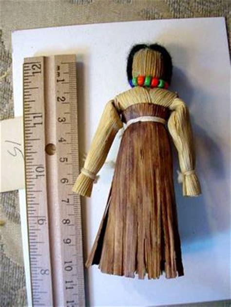 mohawk corn husk doll an economic botany collection