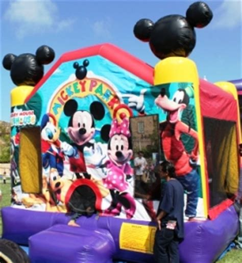 mickey mouse bounce house bounce house rentals san diego mickey mouse bounce house