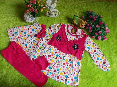 Jilbab Untuk Bayi Baru Lahir plus jilbab setelan baju muslim gamis bayi polka pink