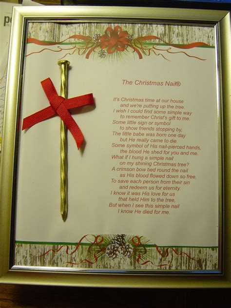 religious christmas crafts to make easy gift spray paint and nail and print out on paper and frame religious