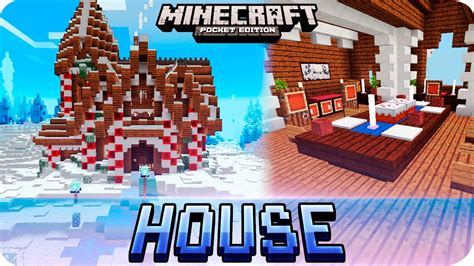 Download Youtube Gingerbread | minecraft gingerbread winter house map with download