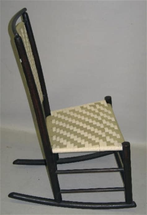 Small Rocking Chair by Armless Rocker Small Rocking Chair With Taped Se 1333967