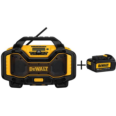 Pulsation P 803 Radio Bluetooth Cahrger dewalt 20 volt or 60 volt lithium ion battery charger and