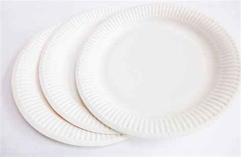 Paper Plates - white paper plate 9 goldshines enterprise pte ltd