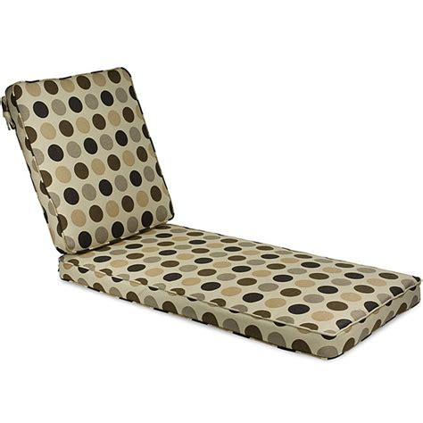 thick chaise lounge cushions outdoor 25 quot wide chaise lounge cushion with sunbrella