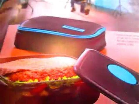 Tupperware Xtreme Meal Box unboxing tupperware xtreme meal box