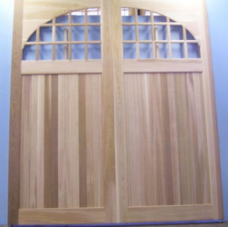 Clingerman Builders Custom Wood Garage Doors Photo Wood Garage Door Builder