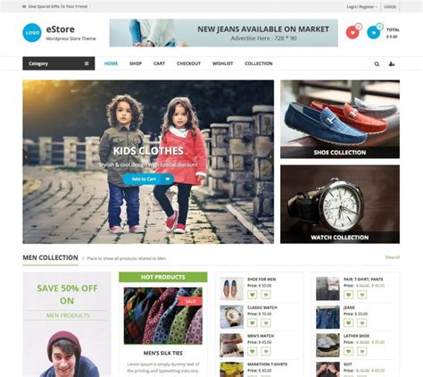 template toko online wordpress responsive template theme wordpress gratis terbaru 2016