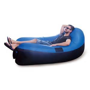 Air chair inflatable blow up sofa amp air bed