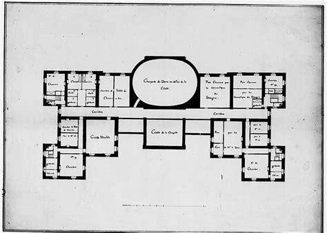 Beach House Blueprints Vaux Le Vicomte Plan Des Combles Architecture