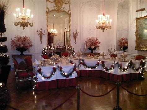 christmas room xmas dining rooms interior decorating