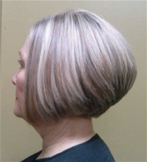 modified stacked wedge hairstyle style gallery salon amie