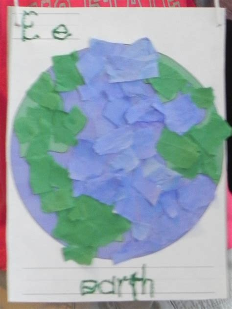 earth craft for earth day crafts pre k