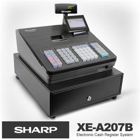 Mesin Kasir Sharp Mesin Kasir Terlaris Sharp Xe 207 Elevenia