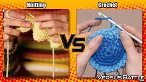 needles ready knitting vs crochet versusbattle com