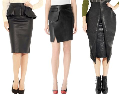 designer leather skirts redskirtz