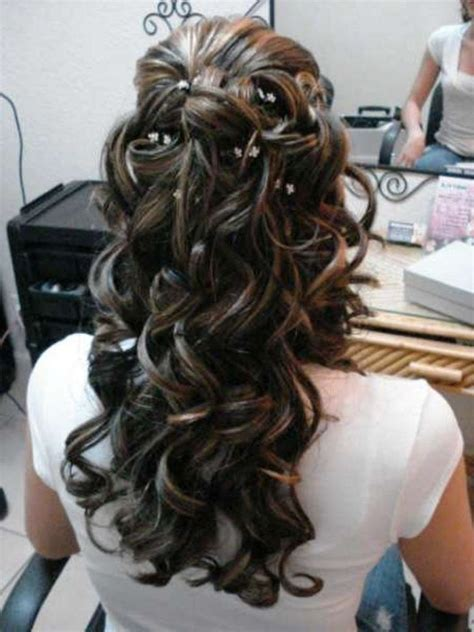 Wedding Hair Up With Fringe by Half Up Half Wedding Hairstyles Best Cuts Ideas