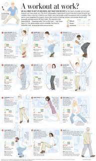 Office Desk Exercises Office Exercises Fitness Pinterest Office Exercise We And The Office