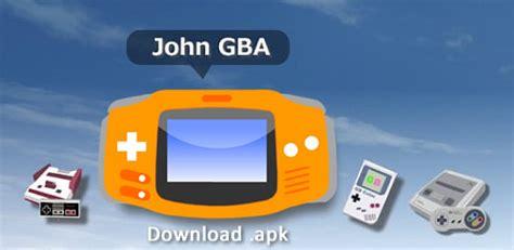 john gba emulator full version free gameboy emulator for android free full apk download